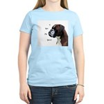 I Love My Boxer Women's Light T-Shirt