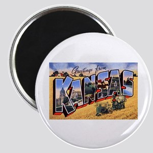 Kansas Greetings Magnet