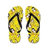 Girls penguin Flip Flops