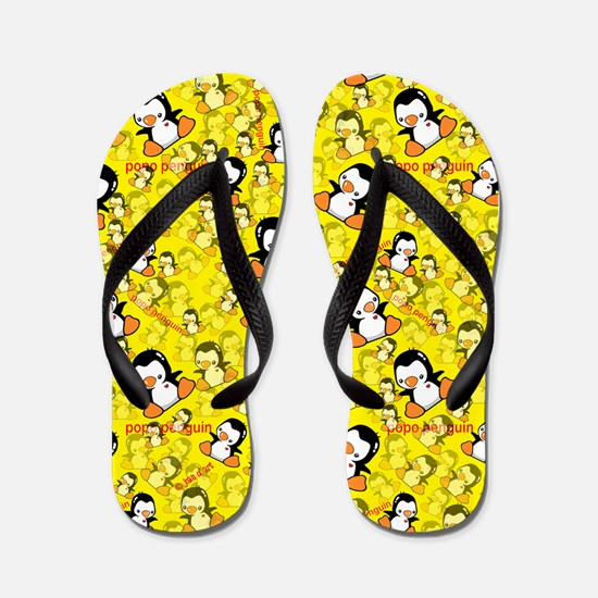 Penguins Flip Flops