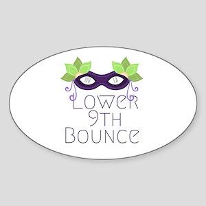 Lower Ninth Bounce Sticker