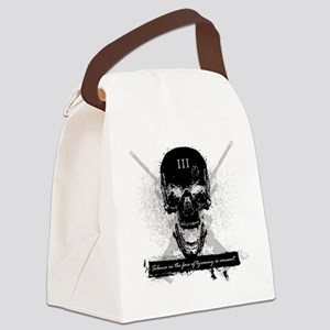 Silence is Consent Canvas Lunch Bag
