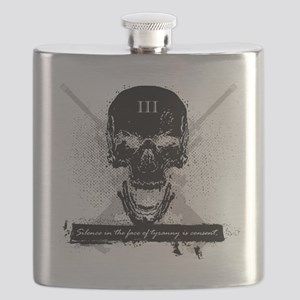 Silence is Consent Flask