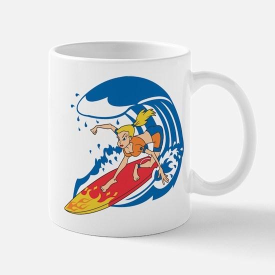SURFER GIRL [blonde] Mugs