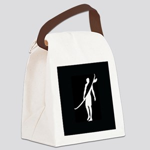 SURFER, DUDE Canvas Lunch Bag