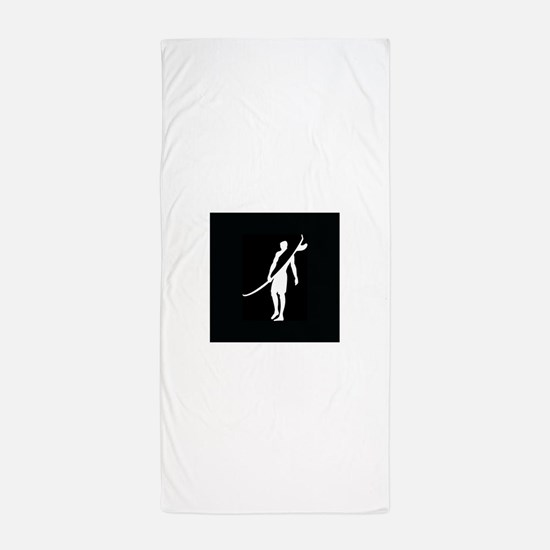 SURFER, DUDE Beach Towel