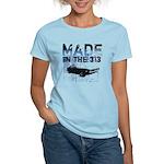 313 Detroit Made Women's Light T-Shirt
