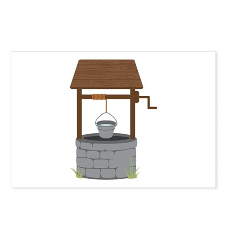 Water Well Postcards (Package of 8)