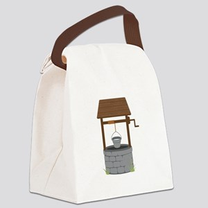 Water Well Canvas Lunch Bag