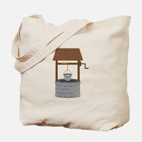 Water Well Tote Bag