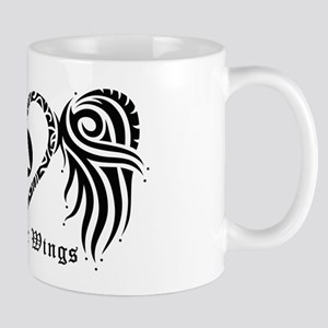SOBRIETY HEART AND WINGS Mug