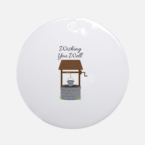 Wishing you Well Ornament (Round)