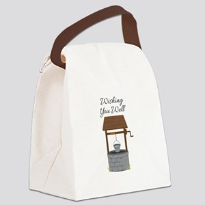 Wishing you Well Canvas Lunch Bag