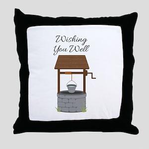 Wishing you Well Throw Pillow
