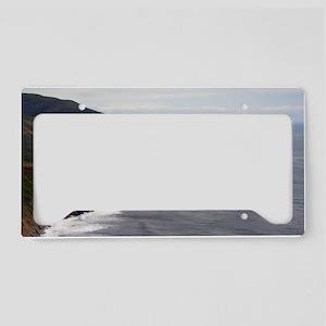 point sur seascape License Plate Holder