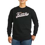 King Long Sleeve Dark T-Shirt