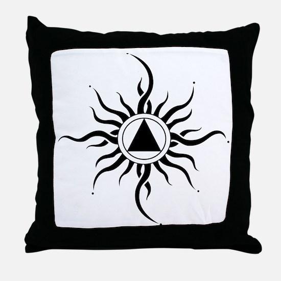 SUNLIGHT OF THE SPIRIT Throw Pillow