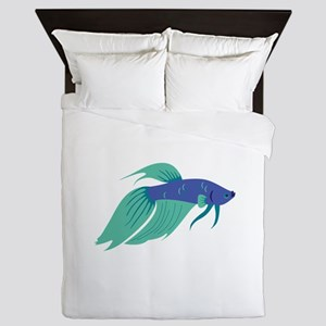 Betta Fish Queen Duvet
