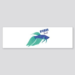 Fish Bait Bumper Sticker