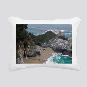 McWay waterfalls Rectangular Canvas Pillow