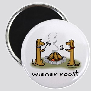 Wiener Roast Wiener Dog Magnet