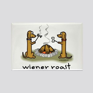 Wiener Roast Wiener Dog Rectangle Magnet