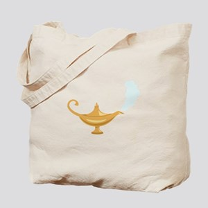 Genie Lamp Bottle Tote Bag