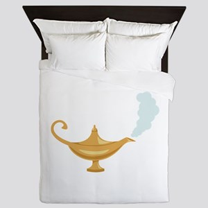 Genie Lamp Bottle Queen Duvet