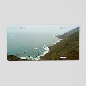 big sur coast Aluminum License Plate