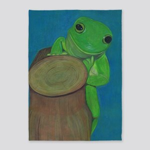 Its A Frogs Life 5'x7'area Rug