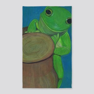 Its A Frogs Life 3'x5' Area Rug