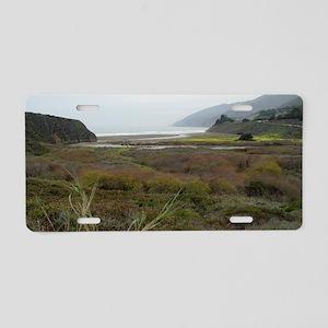 california big sur coast Aluminum License Plate