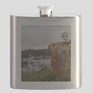 seagull perch Flask