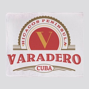 Varadero Retro Badge Throw Blanket