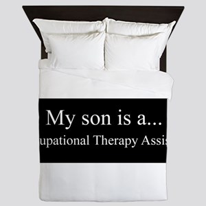 Son - Occupational Therapy Assistant Queen Duvet