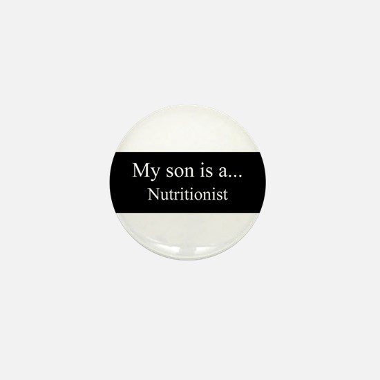 Son - Nutritionist Mini Button
