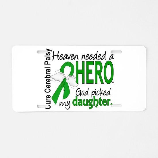 Cerebral Palsy HeavenNeeded Aluminum License Plate