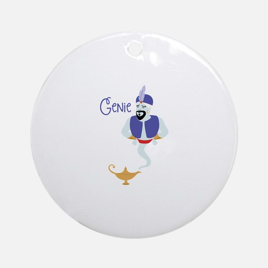 GeNie Ornament (Round)