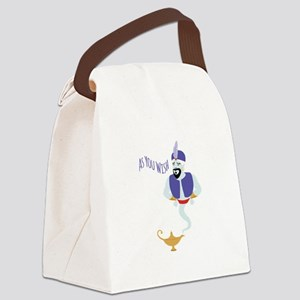 AS YOU WISH Canvas Lunch Bag