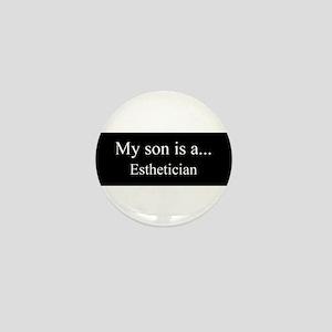 Son - Esthetician Mini Button