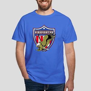 Firefighter Eagle Dark T-Shirt