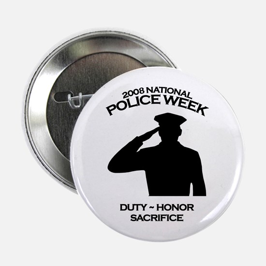 Police Week 4 Button