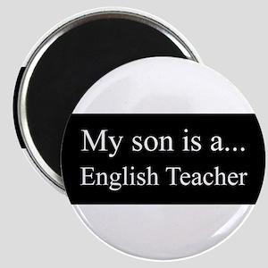 Son - English Teacher Magnets