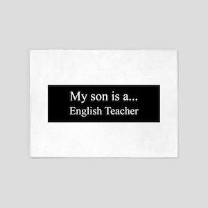 Son - English Teacher 5'x7'Area Rug