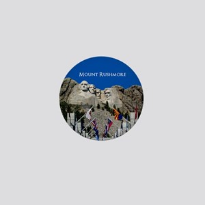 Mount Rushmore Customizable Souvenir Mini Button