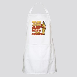 Feel Safe at Night Firefighter Apron