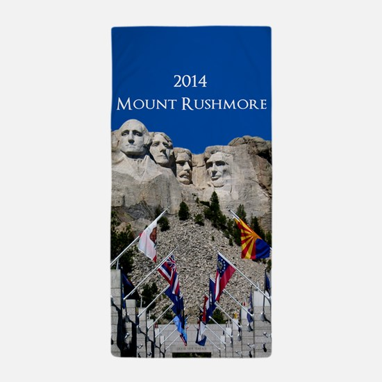 Mount Rushmore Customizable Souvenir Beach Towel