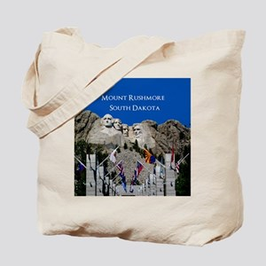 Mount Rushmore Customizable Souvenir Tote Bag