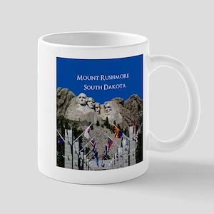Mount Rushmore Customizable Souvenir Mug