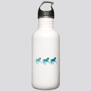 Dressage Horse Sidepas Stainless Water Bottle 1.0L
